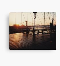 Lienzo Brooklyn Bridge, New York August 2001