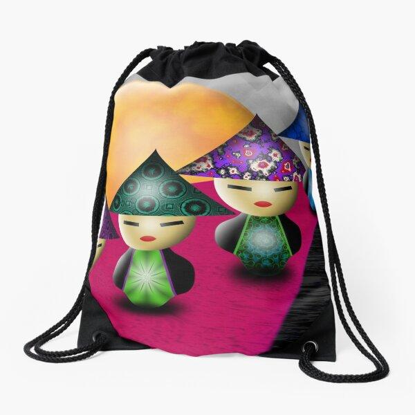 Inner Child - Little China Dolls Drawstring Bag