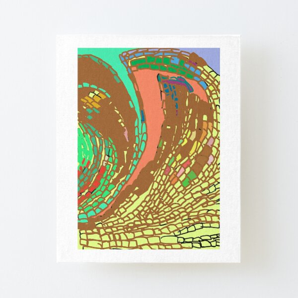 Other Dimension Canvas Mounted Print