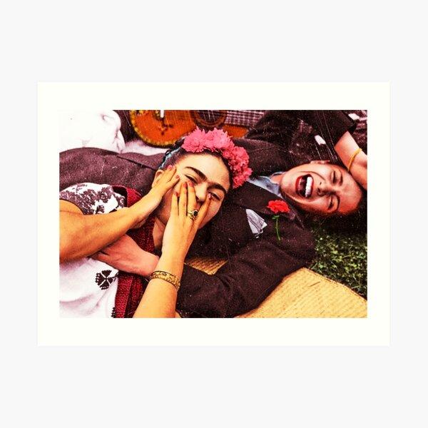 Chavela y Frida Lámina artística