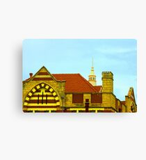 Fremantle Building (History) Canvas Print