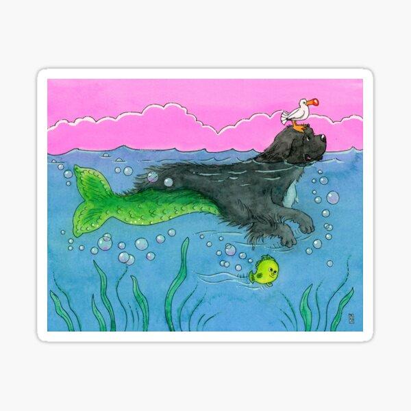 The Little Merdog Sticker