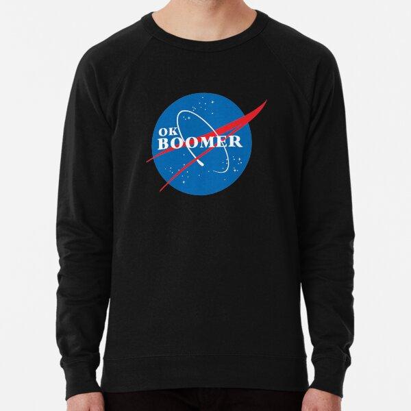 ok boomer NASA Lightweight Sweatshirt