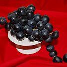Black Grapes by AnnDixon