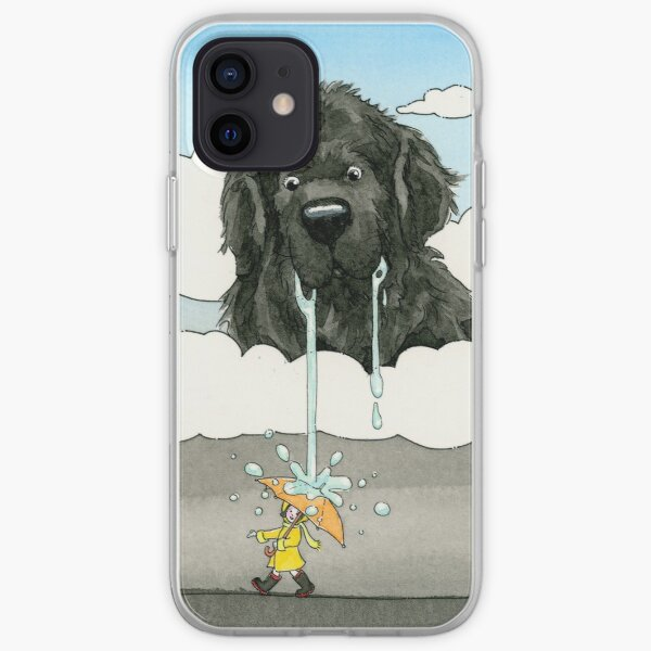 Newfy in the Sky iPhone Soft Case