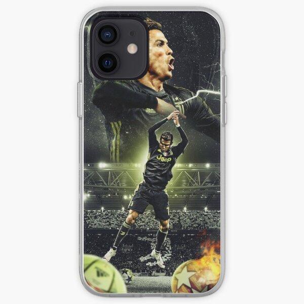 Ilustración de Ronaldo Funda blanda para iPhone