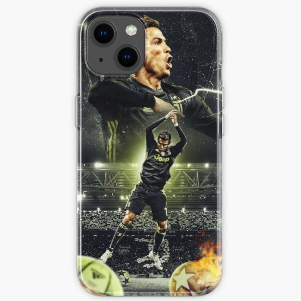 Ronaldo Illustration iPhone Flexible Hülle