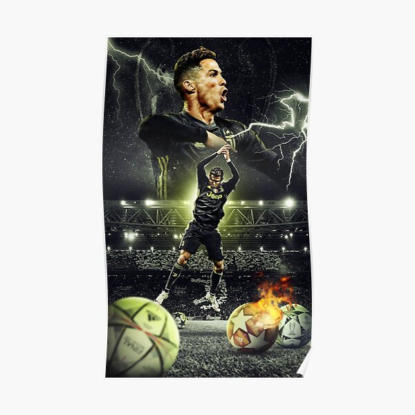 Illustration Ronaldo Poster