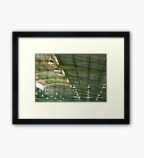 unbearable lightness Framed Print