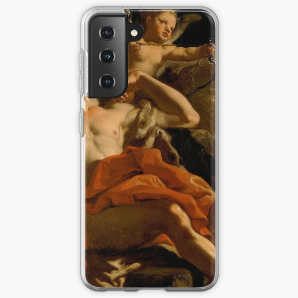 Francesco Solimena-Diana and Endymion  Samsung Galaxy Soft Case