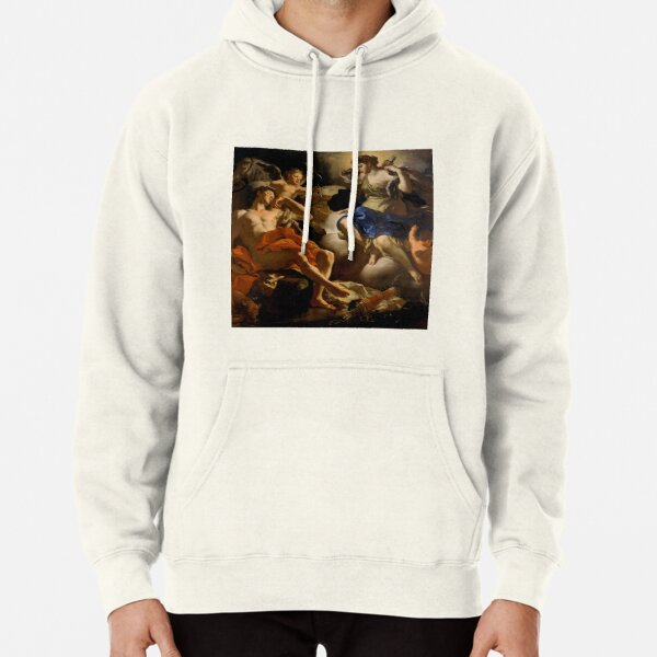 Francesco Solimena-Diana and Endymion  Pullover Hoodie