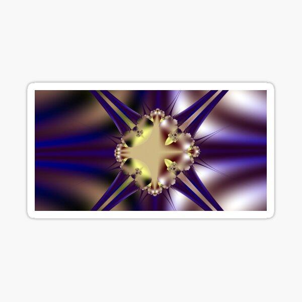 Purple Diamonds Sticker