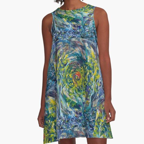 A Walk to the Vortex A-Line Dress
