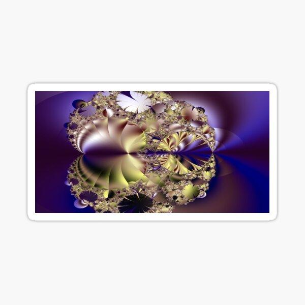 Queen's purple gems Sticker