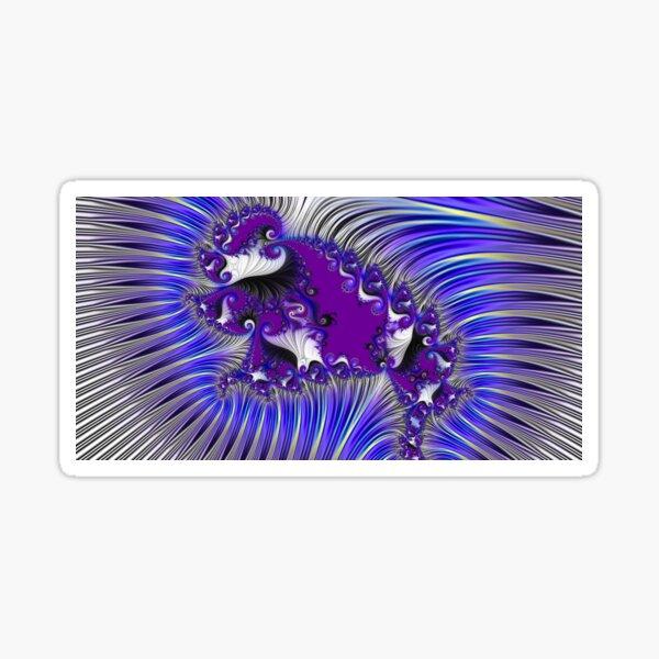 Purple Paisley Sticker