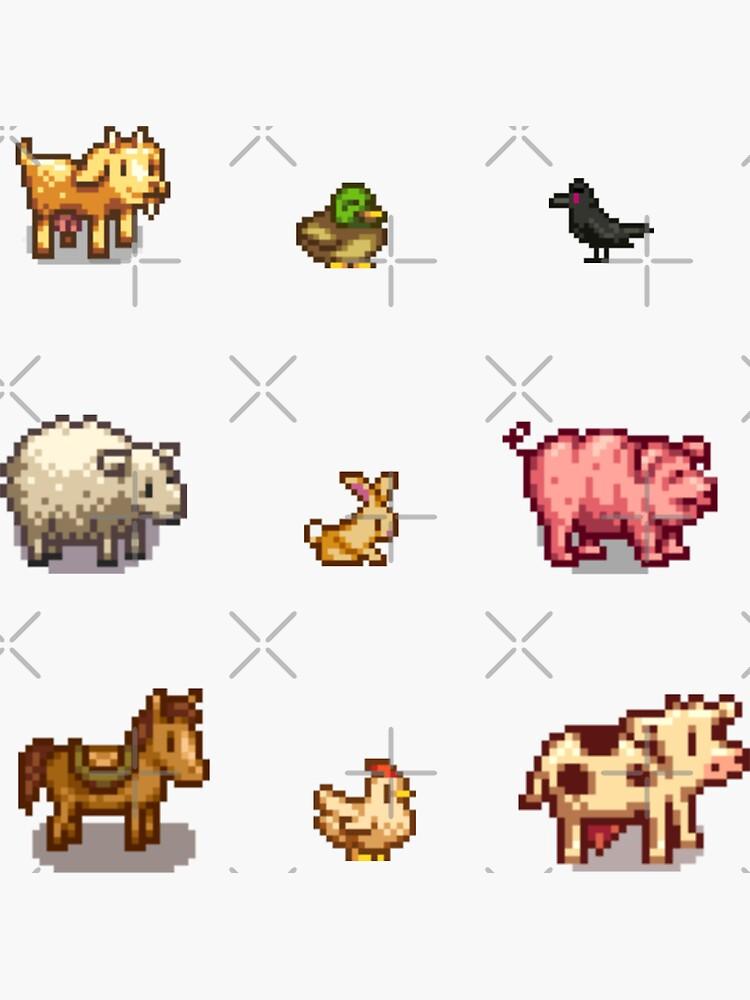 Animales pixelados de lets-see