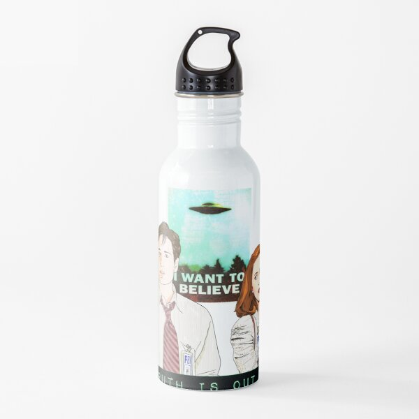 The X files the truth is out there I want to believe by Mimie  Water Bottle