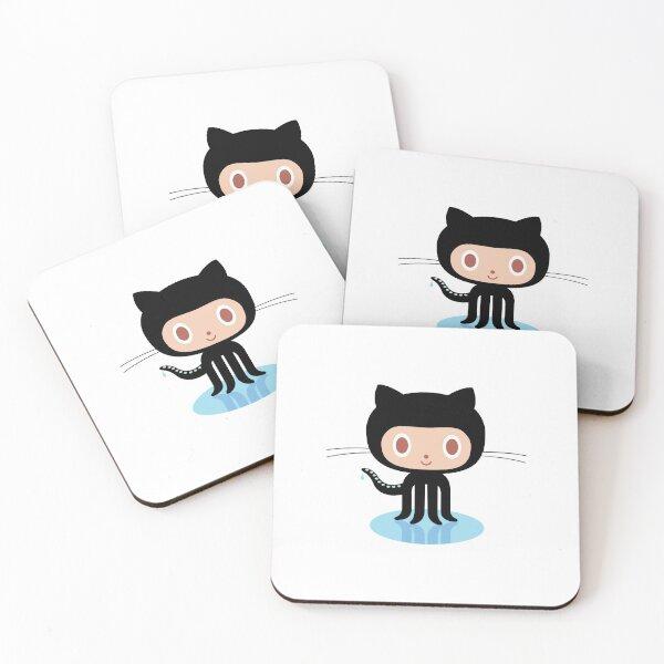Github Coasters (Set of 4)