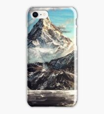 """The Lonely Mountain"" Painting iPhone Case/Skin"