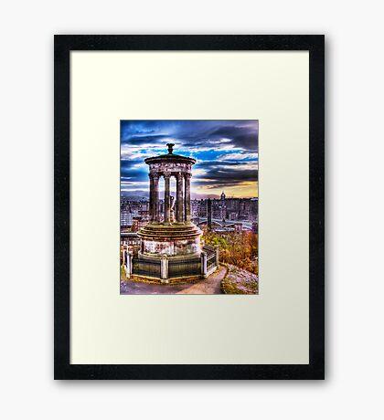 Dugald Stewart Monument Framed Print