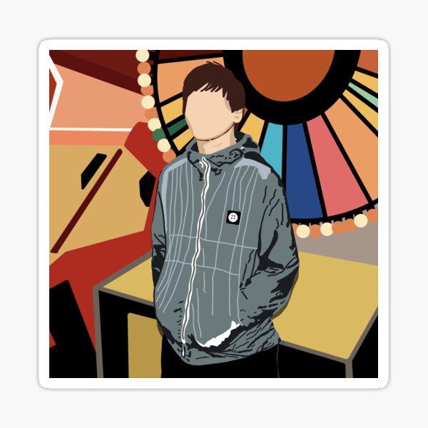 Louis Tomlinson Lo hicimos estilo minimalista Pegatina
