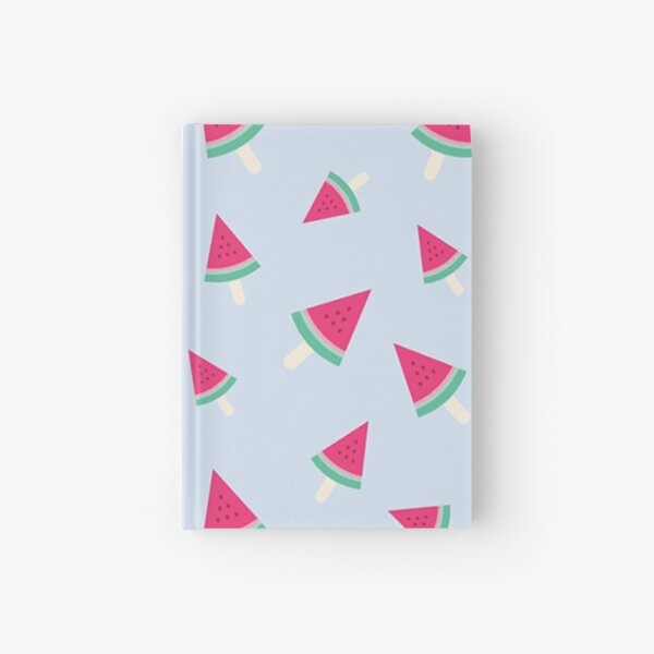 Watermelon on a stick Hardcover Journal