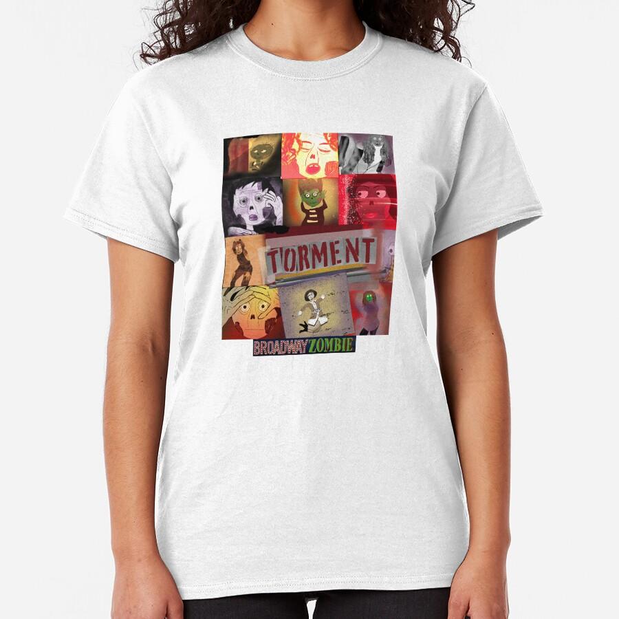 Broadway Zombie Torment Classic T-Shirt