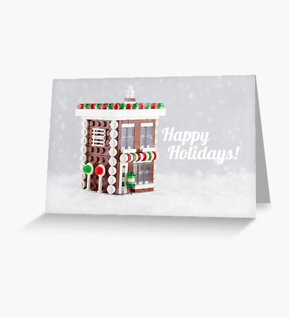 The Gingerbread Shop Greeting Card