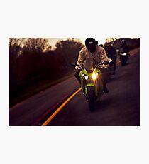 Bikers Photographic Print