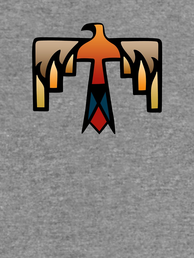 Thunderbird Native American Indian Symbol Lightweight Sweatshirt
