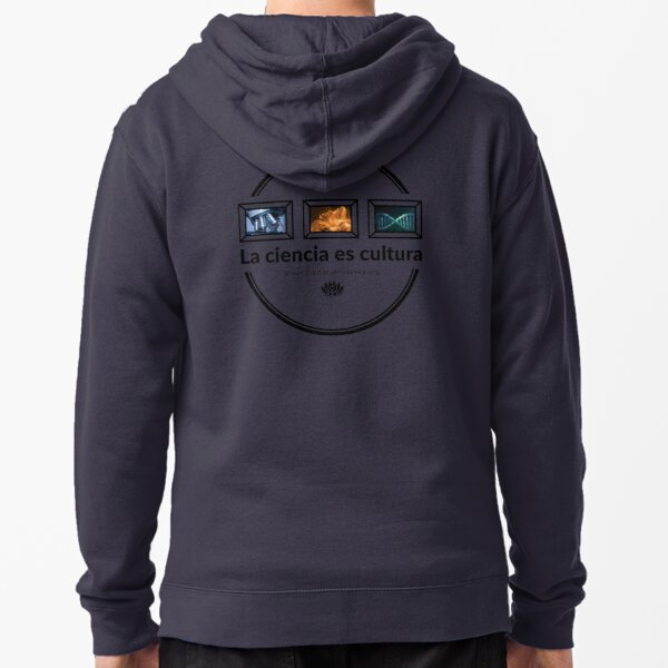 Science is culture gallery I Zipped Hoodie