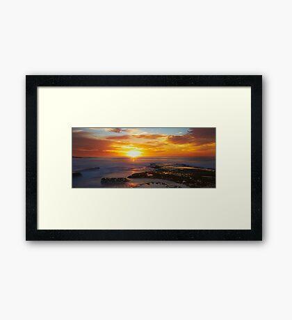 Sunrise- Maroubra Beach Framed Print