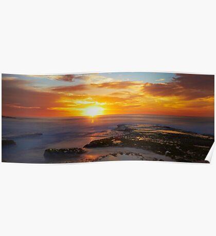 Sunrise- Maroubra Beach Poster