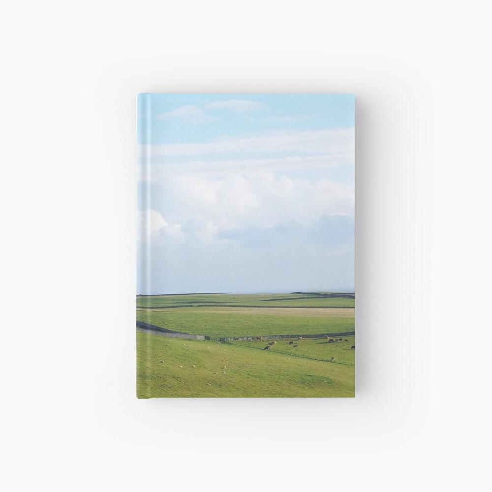 A Scottish landscape Hardcover Journal