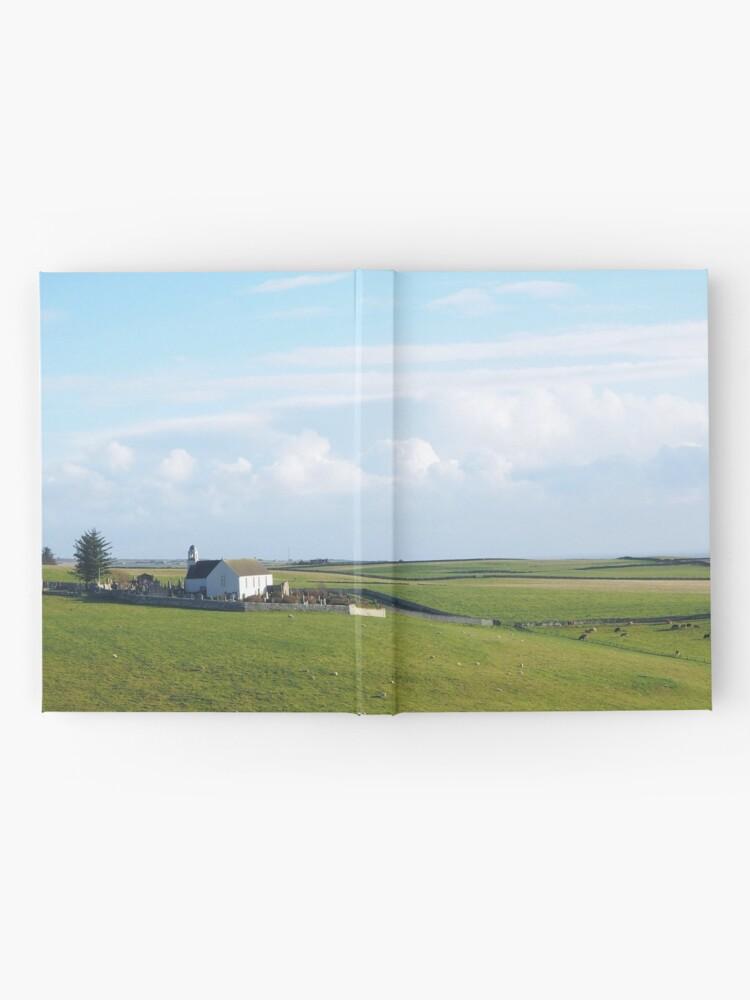 Alternate view of  A Scottish landscape Hardcover Journal