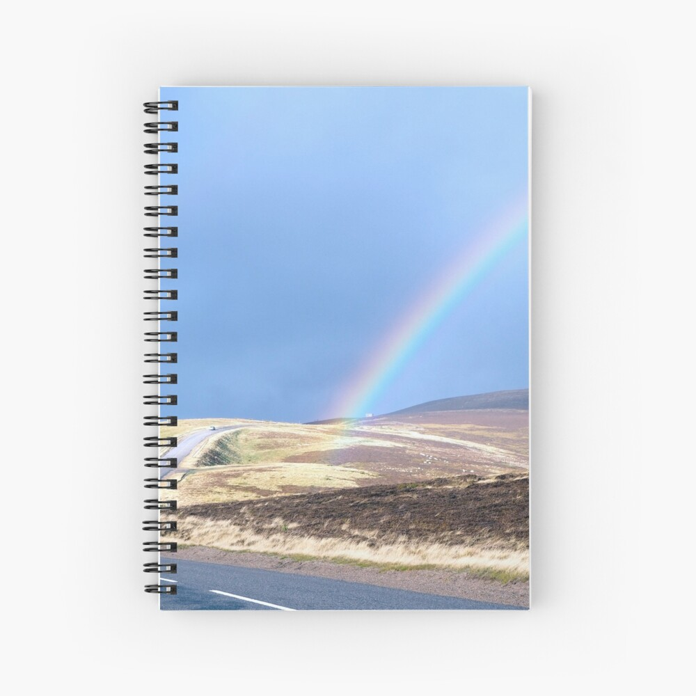 A rainbow in your future Spiral Notebook