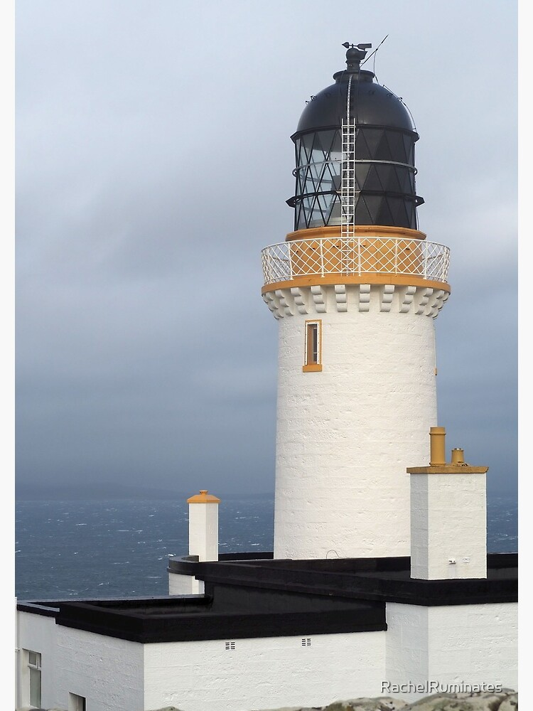 Dunnet Head Lighthouse in Scotland by RachelRuminates
