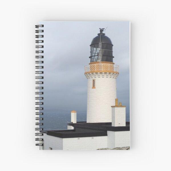 Dunnet Head Lighthouse in Scotland Spiral Notebook