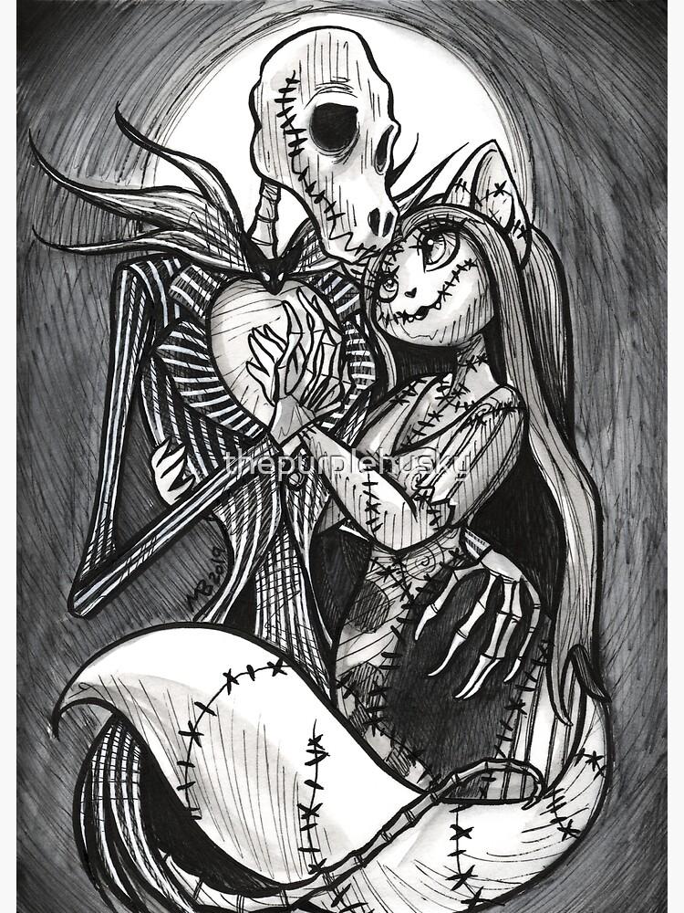 Jack Skellingdog & Sally Ragcat by thepurplehusky