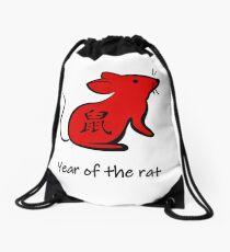 Chinesisches Neujahrsfest 2020 - Jahr der Ratte Turnbeutel