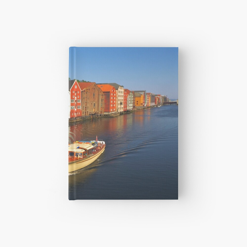 Colorful Trondheim, Norway Hardcover Journal