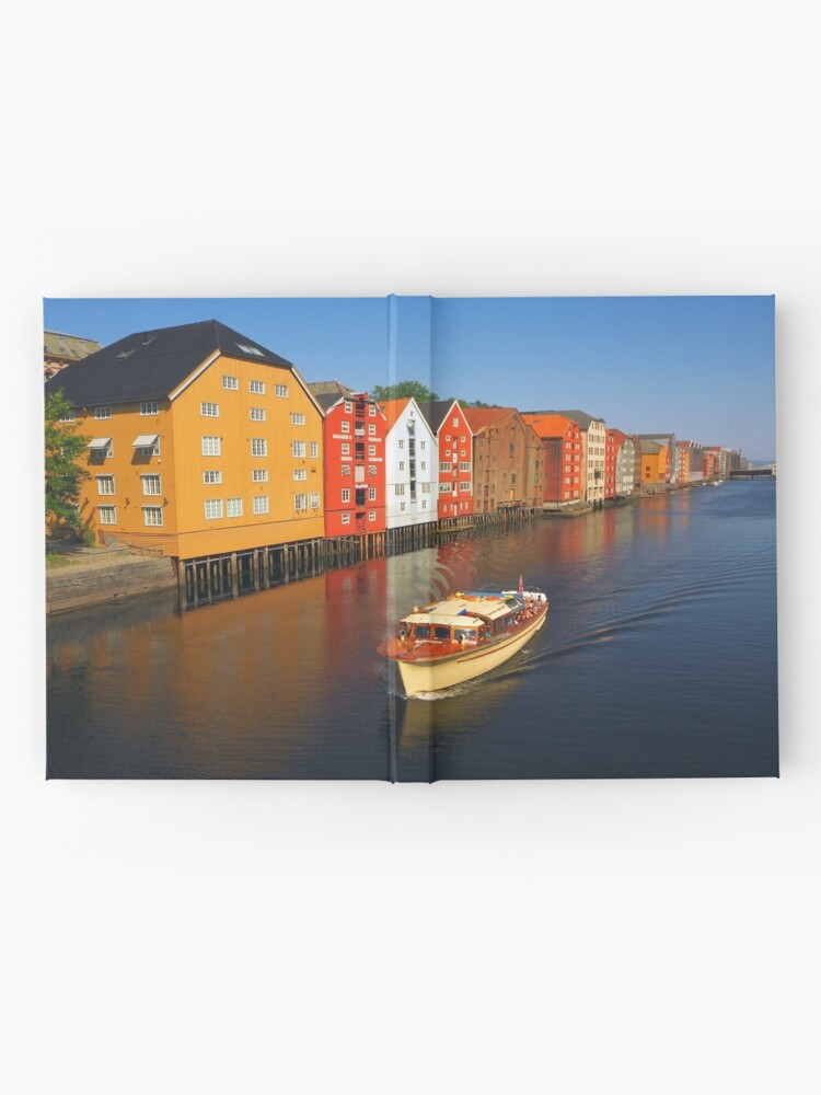 Alternate view of Colorful Trondheim, Norway Hardcover Journal