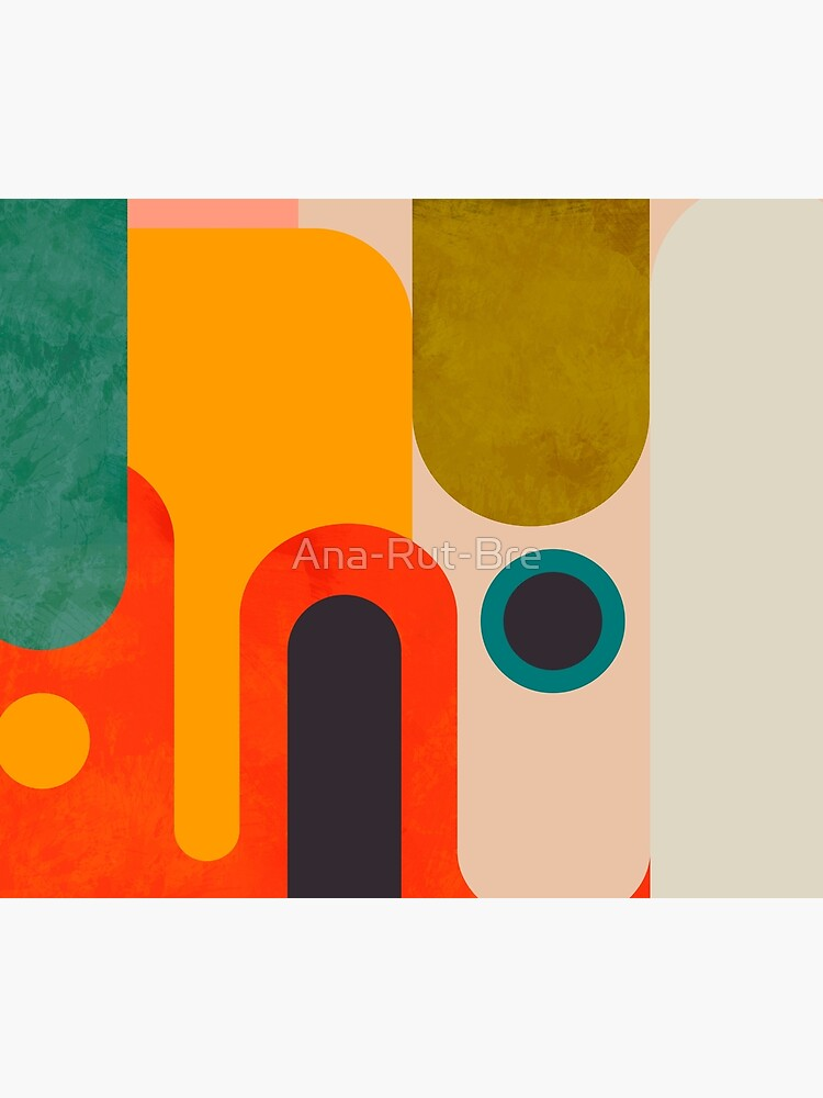 Geometric shapes abstract 8 by Ana-Rut-Bre
