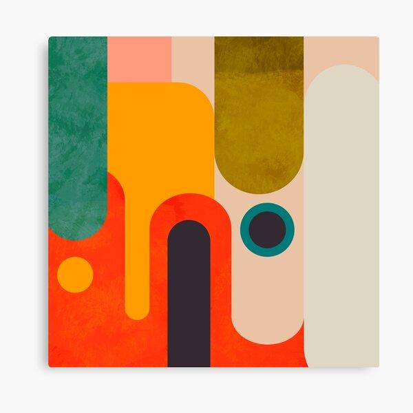 Geometrische Formen abstrakt 8 Leinwanddruck