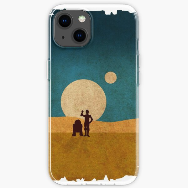 Droids In The Dunes iPhone Soft Case