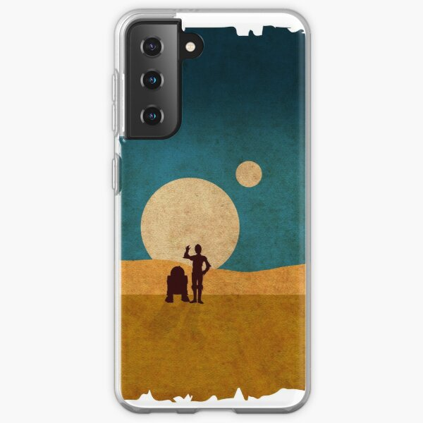 Droids In The Dunes Samsung Galaxy Soft Case