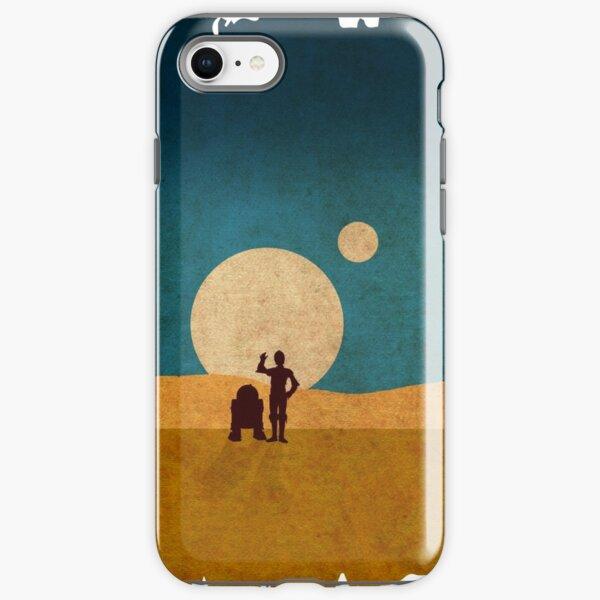 Droids In The Dunes iPhone Tough Case