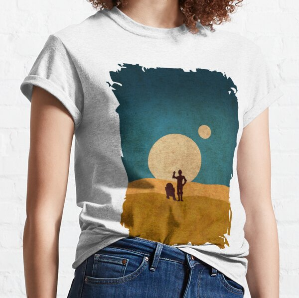 Droiden in den Dünen Classic T-Shirt