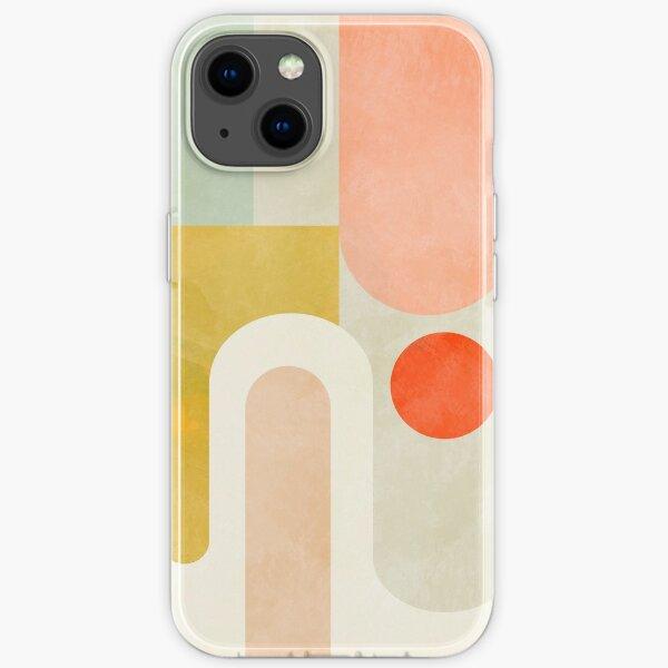 Geometrie Formen abstrakt 9 iPhone Flexible Hülle
