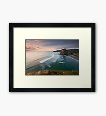 Above Piha Framed Print